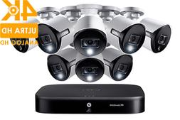4K UHD 16-Channel Security System with 8 Active Deterrence 4
