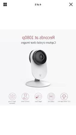 YI 4pc 1080p Home Wireless IP Security Camera System w/ Nigh