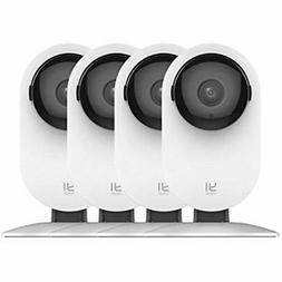 4pc Home Remote Monitoring Systems Camera, 1080p Wireless IP