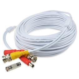 50ft Video Power BNC Cable Cord Lead Wires for Zosi CCTV DVR