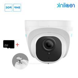 5MP PoE Camera Outdoor Video Surveillance Home Security SD C