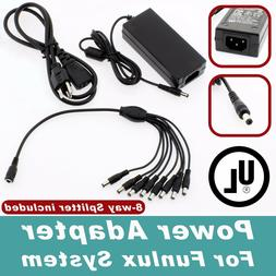 8 Port 12V 5A DC Power Adapter for Funlux Security Cameras C