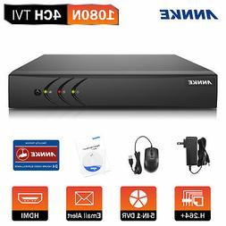 ANNKE 5IN1 4CH 1080P Lite H.264+ Security CCTV DVR Smart Sea