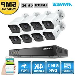 5in1 4k 8mp 8ch dvr 8x 5mp