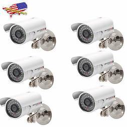 6X 1200TVL HD Color Outdoor CCTV Surveillance Camera 36IR Da