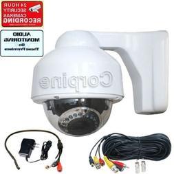 700TVL Security Dome Camera IR w SONY Effio CCD Audio Microp