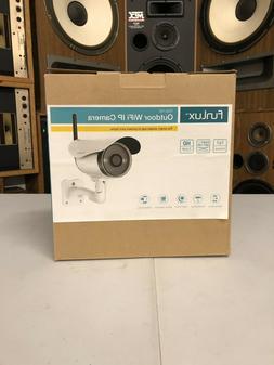 Funlux 720p HD outdoor WiFi IP camera, model ZP-IBI13-W