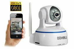 UOKOO 720P WiFi Security Camera Surveillance Camera Night Vi