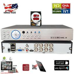 Evertech 8 Ch Channel Home Office Retail store DVR H.264 vid