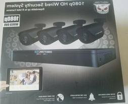Night Owl 8-Channel 4-Camera 1080p Security System w/ 1TB HD