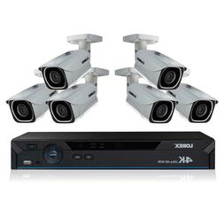 Lorex 8 Channel 4K IP Security System w/ 6 4K Ultra HD Camer