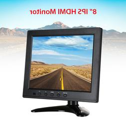 "8"" Inch Small HDMI Monitor With VGA/AV/BNC/USB Input for CCT"