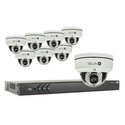 Alibi 8-Camera Outdoor 3.0 Megapixel 65 ft IR Dome Network I