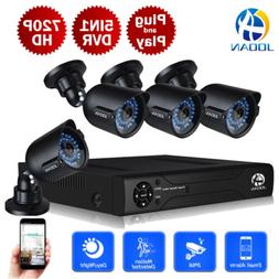 JOOAN 8CH 1080 DVR 4X1080P Security Camera System Outdoor Ho