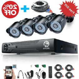 JOOAN 8CH 1080P CCTV 720P 5in1 DVR Security Camera Home Outd