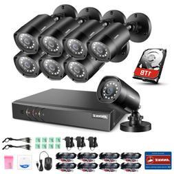 ANNKE 5IN1 8CH 1080P Lite DVR 2500TVL CCTV Home Security Cam