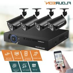 8CH 1080P XPOE Video Recorder +Security Cameras Home Office