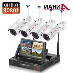 ANRAN 8CH 1280x960P HD Wireless Camera Surveillance System S