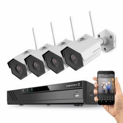 Amcrest 8CH 4K NVR 4MP 1520P Security Camera System NV4108-H