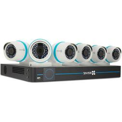 Ezviz 8Ch 4MP Security System with 6 Outdoor Bullet Cameras,