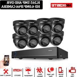 8CH 5MP Full HD CCTV System 2590P HDMI DVR 8 PCS MINI Metal