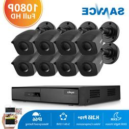 SANNCE 5in1 8CH 1080P HDMI DVR HD 2MP IR CUT CCTV Outdoor Se