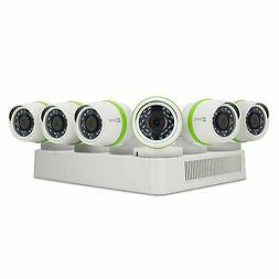 EZVIZ 8CH Video Home Security System, DVR with 2TB HDD, 6x 1