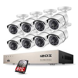 8ch network poe security system