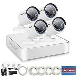 ANNKE 8ch HD 1080P NVR SPOE Security Camera System with  1.3