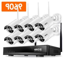 ZOSI 960P Wireless Security IP Camera System 8CH 1080p WIFI