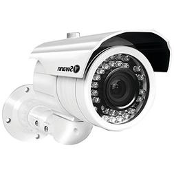 Swann Pro-980 Ultimate Optical Zoom Security Camera with Nig