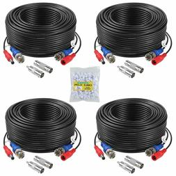 ANNKE 100 Feet  2-In-1 Video/Power Cable with BNC Connectors