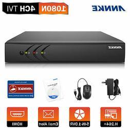 ANNKE 1080P 4CH DVR 5in1 Video Recorder DVR Smart Home Secur