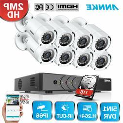 ANNKE 4CH/8CH 1080N 5IN1 HD DVR IR Day Night 2MP Home Securi