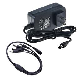 Ablegrid 4CH 12V 3A 4 Port Power Supply Cord Charger for Sec