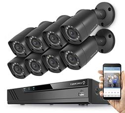 Amcrest Full-HD 1080P 16CH Video Security System w/Eight 2MP