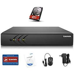 Annke 8CH 5-in-1 1080P Lite Security DVR with 1TB Hard Drive