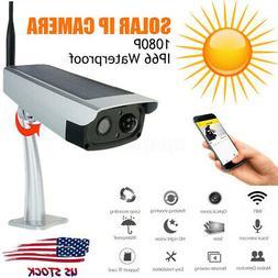 Camera Smart home Solar Powered - Wireless Security WIFI Wat