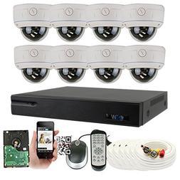 GW Security 8 Channel HDMI CCTV DVR Outdoor / Indoor Securit