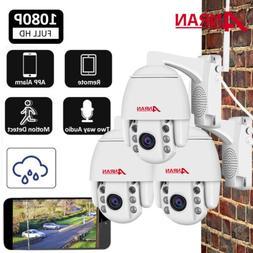 HD 1080P Pan/Tilt Wireless IP Security Camera System Network