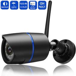 HD 720P Wifi Wireless CCTV Outdoor Smart Security IP Camera