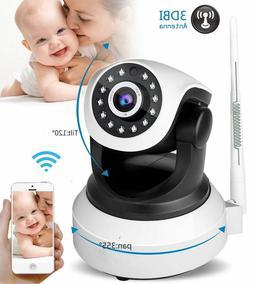 Home Video Baby Monitor IP Camera 720P HD Wireless IR Night