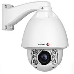 2MP 20X Auto Tracking PTZ IP Camera - 1080P High Speed Outdo