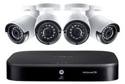 Lorex 1080p Security surveillance camera system with 4 outdo