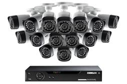 Lorex 16 Channel Security Camera System with 16 indoor/outdo