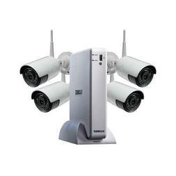 Lorex - 4-channel, 4-camera Outdoor Wireless 1080p 1tb Dvr S
