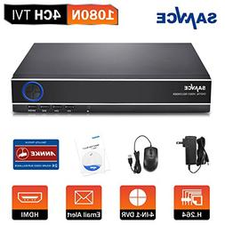 SANNCE 4CH Standalone 960P/1080N Video Surveillance DVR With