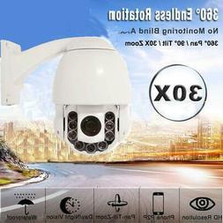 SONY CMOS 1200TVL HD Pan/Tilt Outdoor 30X Zoom PTZ IR Dome C