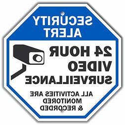 """Security Alert - 24 Hour Video Surveillance, All Activities"