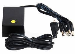 VideoSecu 12V DC CCTV Security Camera Power Supply Adapter w